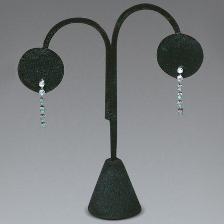 Σταντ παρουσίασης για σκουλαρίκια Μαύρο 12,5cm
