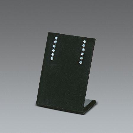 Σταντ παρουσιάσης για σκουλαρίκια Μαύρο 6x9cm