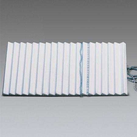 Βάση παρουσίασης για κολιέ και βραχιόλια Λευκό 36x20x2,5cm