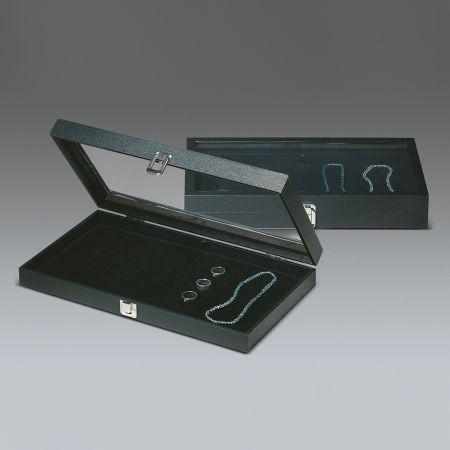 Δίσκος παρουσίασης για κοσμήματα Μαύρο 37x21x5cm