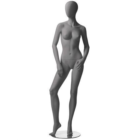 Γυνακεία Κούκλα Βιτρίνας με Αφαιρετικό Κεφάλι 183cm - Position 4