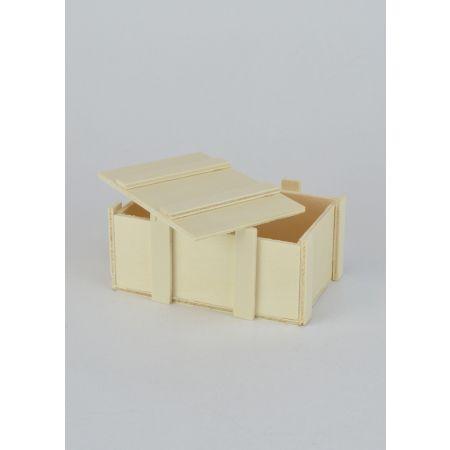 Διακοσμητικό Κουτί Ξύλινο 11x7x5cm