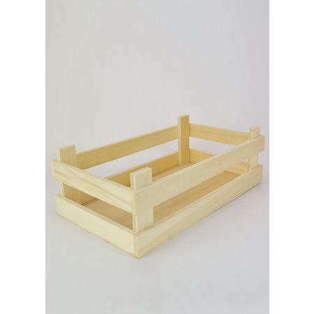 Διακοσμητικό καφάσι ξύλινο 34.5x19.5x11.5cm
