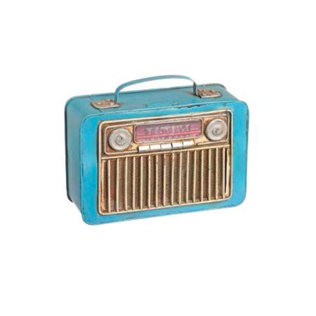 Διακοσμητικό Ραδιόφωνο-Κουμπαράς 20x23.5x8cm