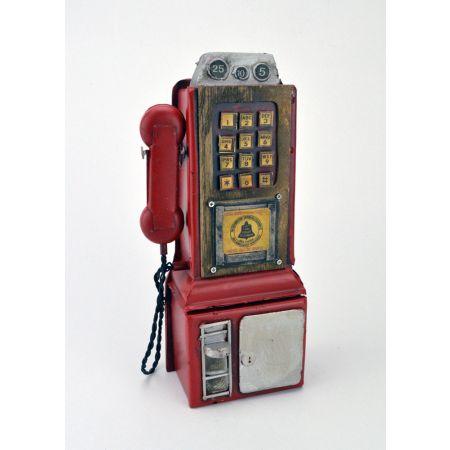Διακοσμητικό Τηλέφωνο-Κουμπαράς 24cm