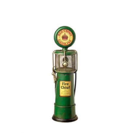 Διακοσμητική αντλία βενζινης Πράσινη 33cm