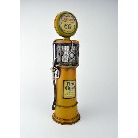 Διακοσμητική Αντλία Βενζινης Κίτρινη 33cm