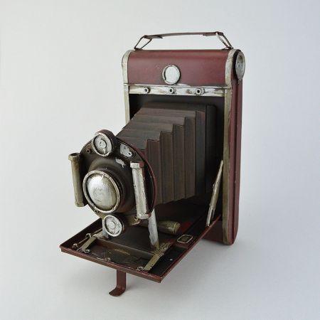 Διακοσμητική Vintage φωτογραφική μηχανή 21cm