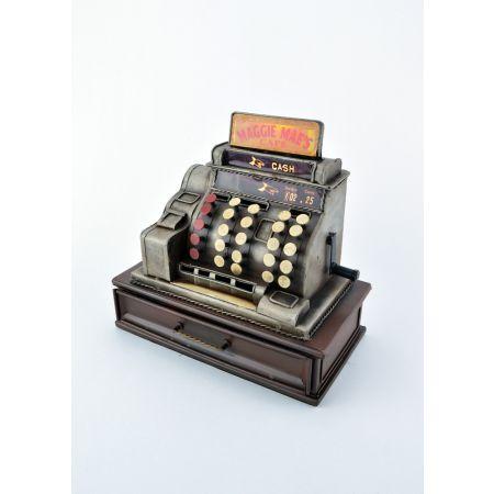 Διακοσμητική Ταμειακή μηχανή εποχής - Κουμπαράς 22x23x13cm