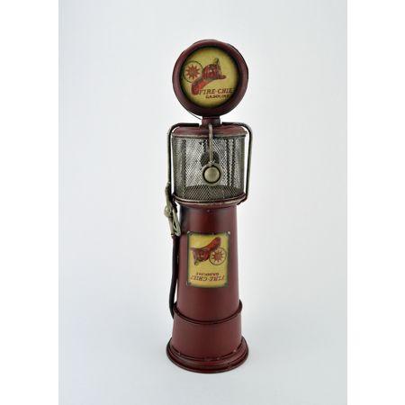 Διακοσμητική Αντλία Βενζινης Κόκκινη 33cm