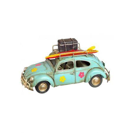 Διακοσμητικό αυτοκίνητο με σανίδα Surf 23cm