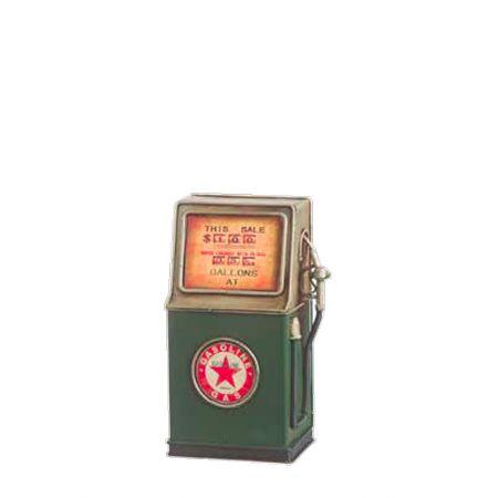 Διακοσμητική αντλία βενζίνης-κουμπαράς 23cm