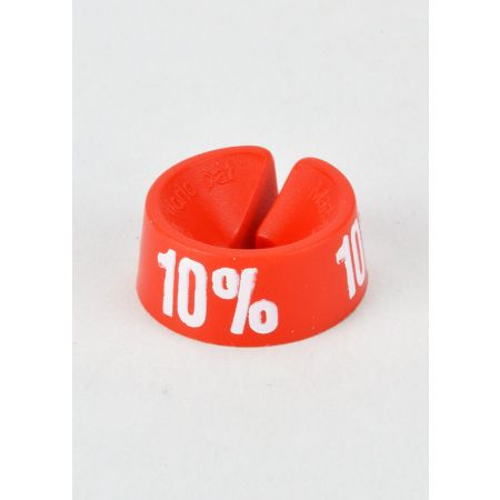 10% Σετ 25τμχ Σήμανση Προσφορών Κόκκινο-Λευκό