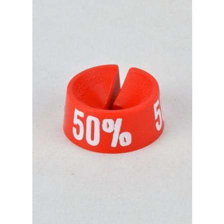 50% Σετ 25τμχ Σήμανση Προσφορών Κόκκινο-Λευκό
