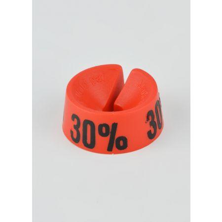 30% Σετ 25τμχ Σήμανση Προσφορών Κόκκινο-Μαύρο
