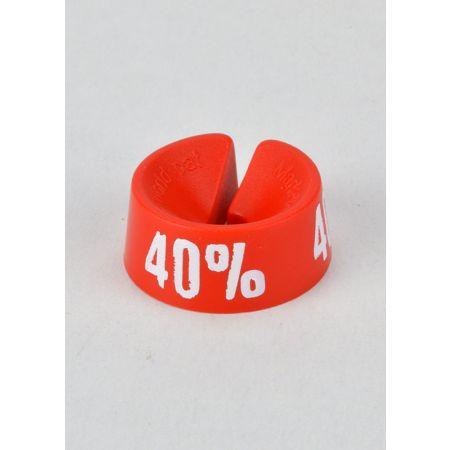 40% Σετ 25τμχ Σήμανση Προσφορών Κόκκινο-Λευκό