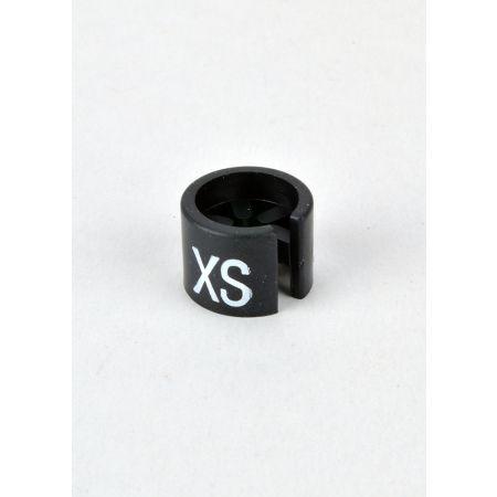 XS Σετ 100τμχ Νουμεροδείκτες mini Μαύρο/Λευκά γράμματα