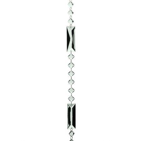 Διακοσμητική γιρλάντα με ακρυλικά διαμάντια 185cm