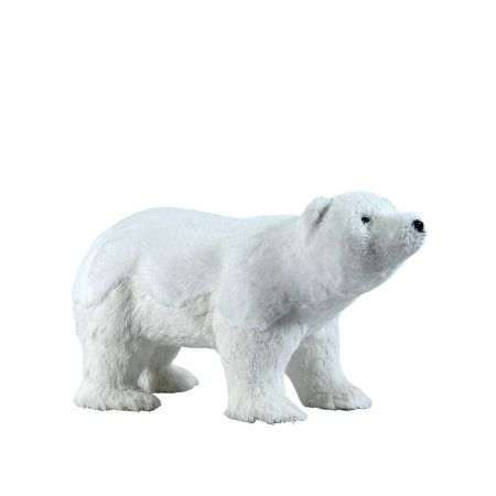Διακοσμητική πολική αρκούδα 54x24x30cm