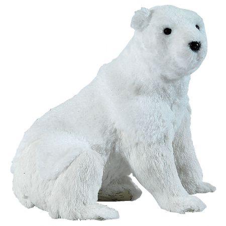 Διακοσμητική πολική αρκούδα 31x23x30cm