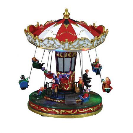 Optical Carousel με ήχο και κίνηση 24x24x27cm