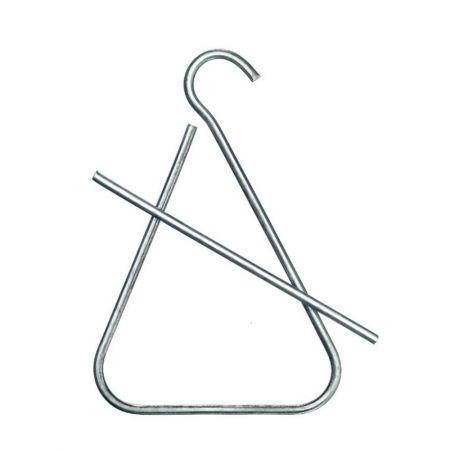 Χριστουγεννιάτικο τρίγωνο για κάλαντα Ασημί