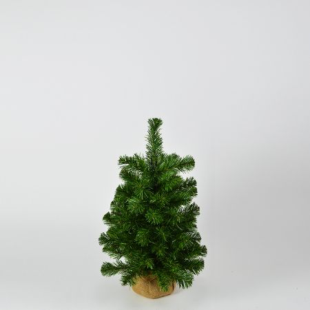 Χριστουγεννιάτικο δεντράκι με βάση τσουβάλι 60cm