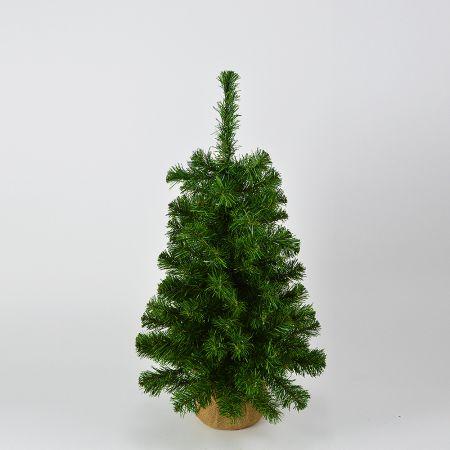 Χριστουγεννιάτικο δέντρο με βάση τσουβάλι 75cm