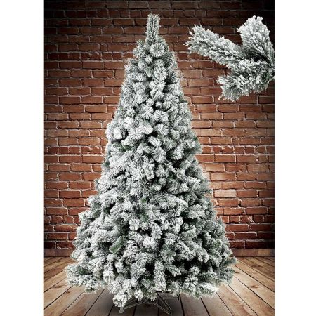 Χριστουγεννιάτικο δέντρο χιονισμένο Alaska 210cm