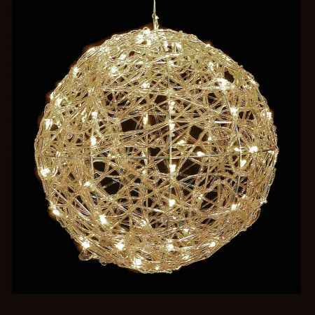 Χριστουγεννιάτικη φωτιζόμενη μπάλα 100LED 35cm
