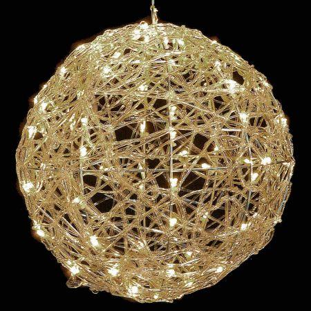 Χριστουγεννιάτικη φωτιζόμενη μπάλα 120LED 50cm