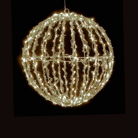 Χριστουγεννιάτικη φωτιζόμενη μπάλα 200LED 25cm