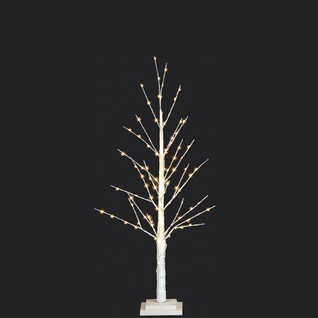 Φωτιζόμενο δέντρο Λευκό με 152LED 120cm