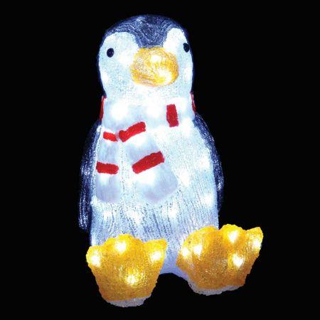 Διακοσμητικός φωτεινός Πιγκουίνος 80LED 40m