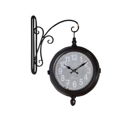 Διακοσμητικό Ρολόι Τοίχου 43cm