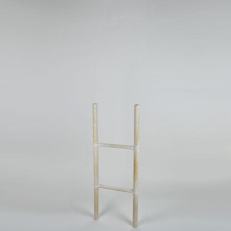 Διακοσμητική Σκάλα - σταντ Ξύλινη με 2 Πατήματα 35x100cm