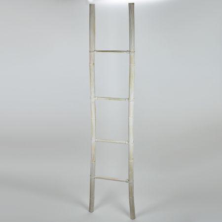 Διακοσμητική Σκάλα - σταντ Ξύλινη με 4 Πατήματα 40x200cm