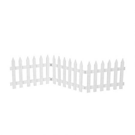 Διακοσμητικός φράκτης Λευκός 30x120cm