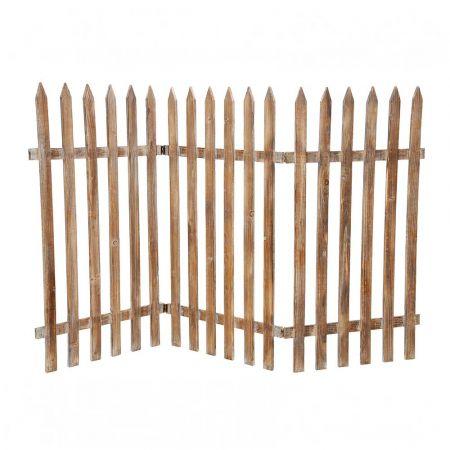 Διακοσμητικός φράκτης Φυσικό ξύλο 90x150cm