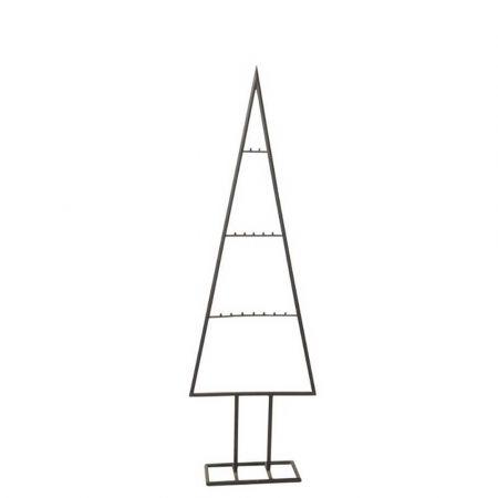 Μεταλλικό Χριστουγεννιάτικο δέντρο - σταντ - Μαύρο 150cm