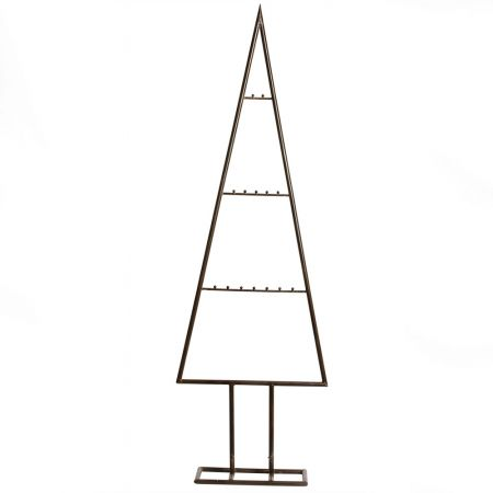 Μεταλλικό Χριστουγεννιάτικο δέντρο - στάντ - όψη σκουριάς 150cm