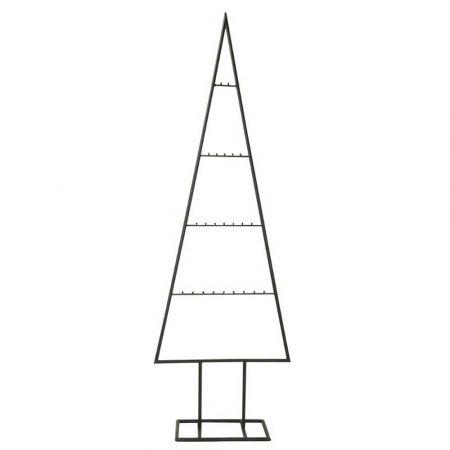 Μεταλλικό Χριστουγεννιάτικο δέντρο - σταντ Μαύρο180cm