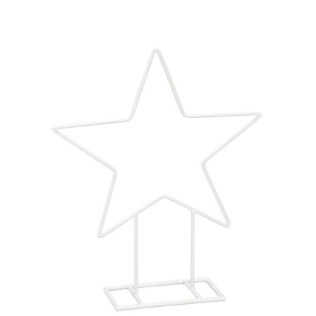 Διακοσμητικό αστέρι με βάση Λευκό 61,5cm