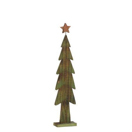 Διακοσμητικό Χριστουγεννιάτικο δέντρο με αστέρι, 111cm