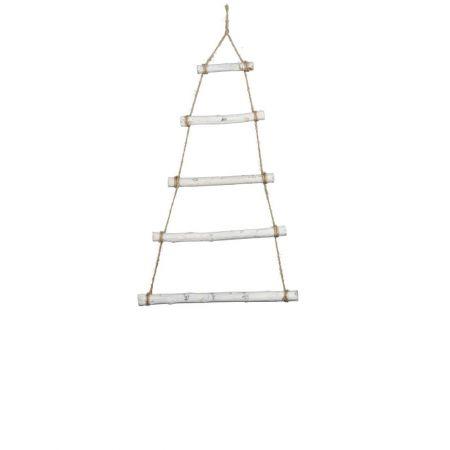 Διακοσμητική κρεμαστή σκάλα-δέντρο 41x70cm