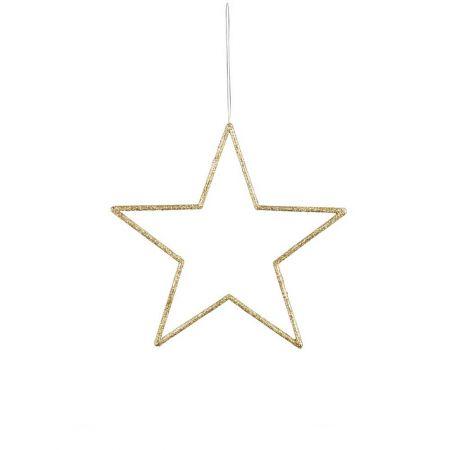 Διακοσμητικό κρεμαστό αστέρι κατασκευασμένο από PVC.