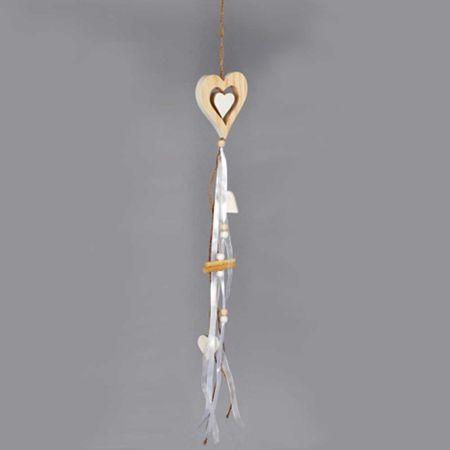 Διακοσμητικό κρεμαστό στολίδι Καρδούλα 55cm