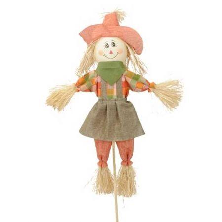 Διακοσμητικό σκιάχτρο Κορίτσι 105cm
