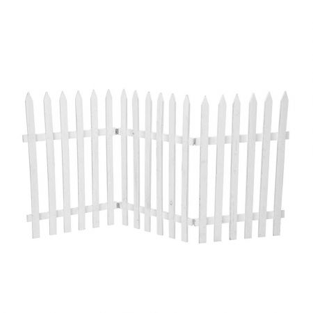 Διακοσμητικός φράκτης Λευκός 60x120cm