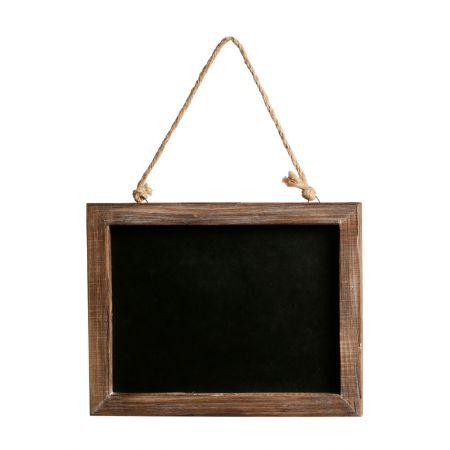 Διακοσμητικός κρεμαστός μαυροπίνακας 30x1.5x22.5cm